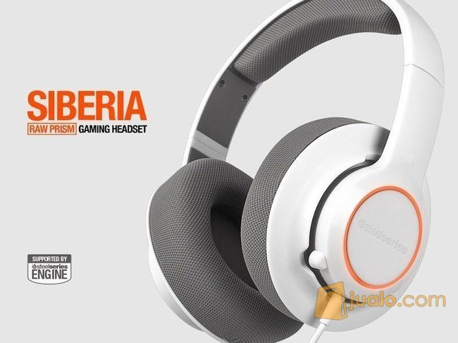Headset SteelSeries Siberia Raw Prism White New!!! (8245627) di Kota Jakarta Barat