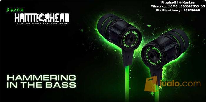 Headset Razer Hammerhead (8245901) di Kota Jakarta Barat