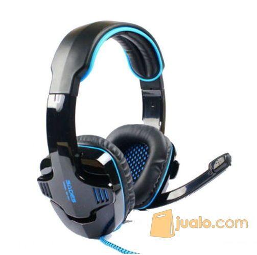 Headset Sades 901 Wolfang (USB) (8266939) di Kota Pekanbaru