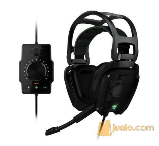 Headset Razer Tiamat 7.1 Elite Surround Sound Analog Gaming Headset (8267047) di Kota Pekanbaru