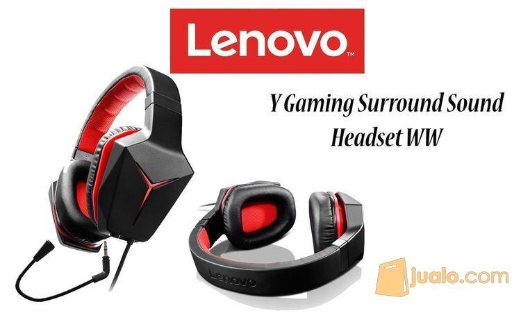 Headset Lenovo Gaming Surround Sound WW (8267351) di Kota Pekanbaru