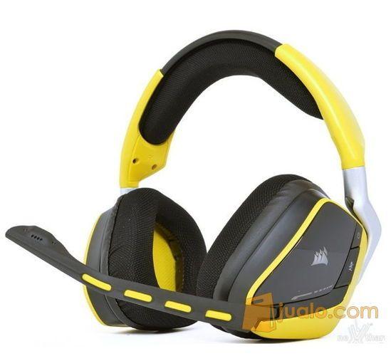 Headset Corsair Void Special Edition Yellowjacket (Wireless) (8268201) di Kota Pekanbaru