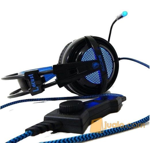 Headset Gaming Sades Locust (8268369) di Kota Pekanbaru
