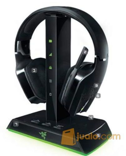 Headset Razer Chimaera 5.1 - Wireless headset gaming for Xbox 360 (8268791) di Kota Pekanbaru