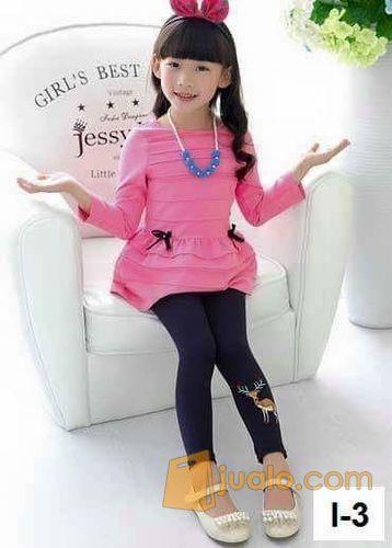 Sale Mx2 Kode I Black Celana Legging Anak Import Surabaya Jualo
