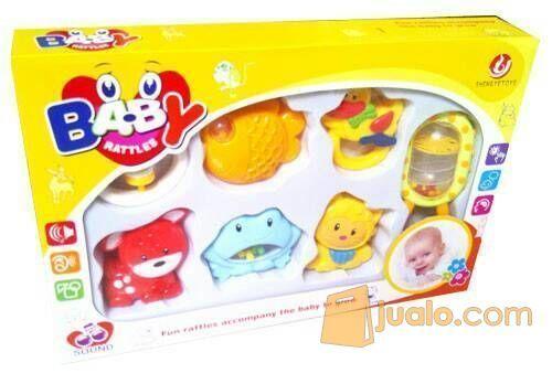 Baby Rattle Isi 7 Mainan Anak Mainan Edukatif Malang Jualo