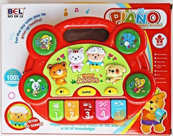Piano Happy Animals Nb1785 Mainan Anak Mainan Edukatif Malang Jualo