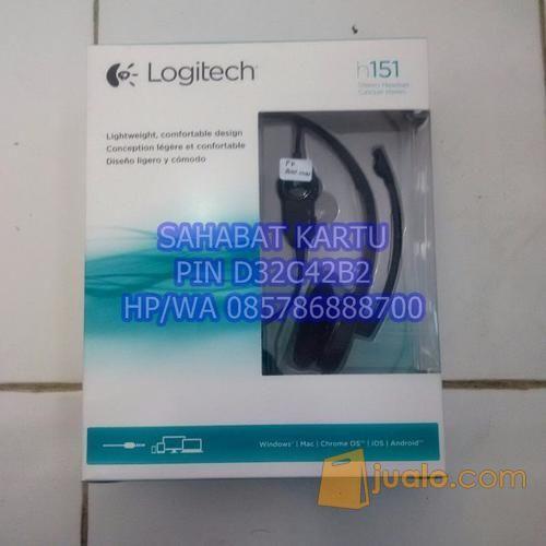 headphone logitech h151 (8480665) di Kota Magelang