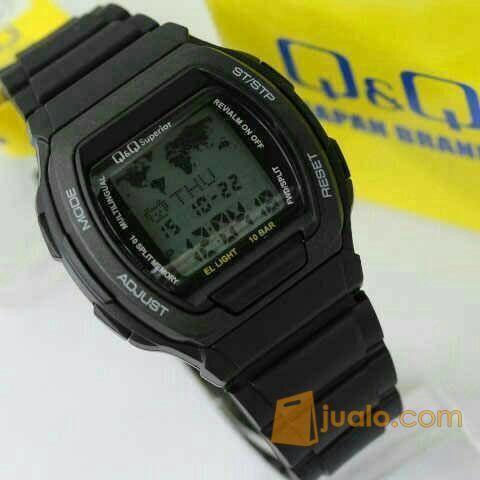 Jam Tangan Q Q Qq Qnq Original Data Bank Mmw3p101y Full Black Jakarta Barat Jualo
