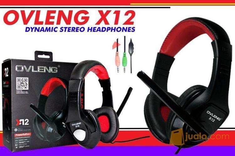 Headset OVLENG X12 (8530507) di Kota Medan