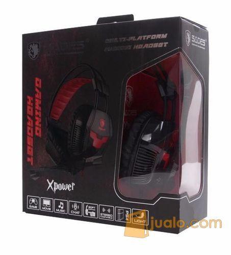 Headset Gaming SADES (8530697) di Kota Medan