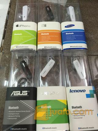 headset bluetoot for iphone, xiao mi, samsung, asus, oppo, lenovo (8554703) di Kota Jakarta Barat