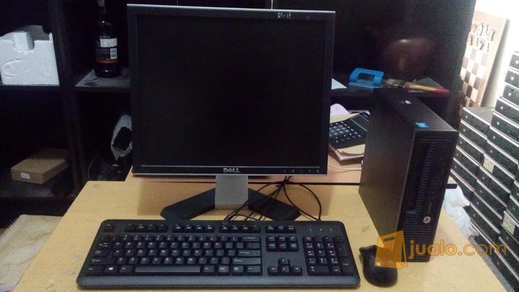 """CPU Hp Hasweel G801 Intel Core I5 Ultra Slim+ Monitor 17 """"Hebat Dikelasnya.. (8651439) di Kab. Bekasi"""