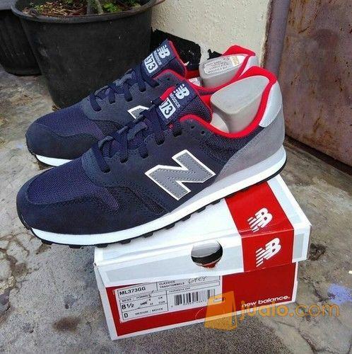 Sepatu New Balance Ml373 Navy Grey Original