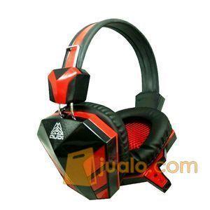 Rexus F22 Headphone / Headset Gaming / Game New Merah (8821965) di Kota Depok