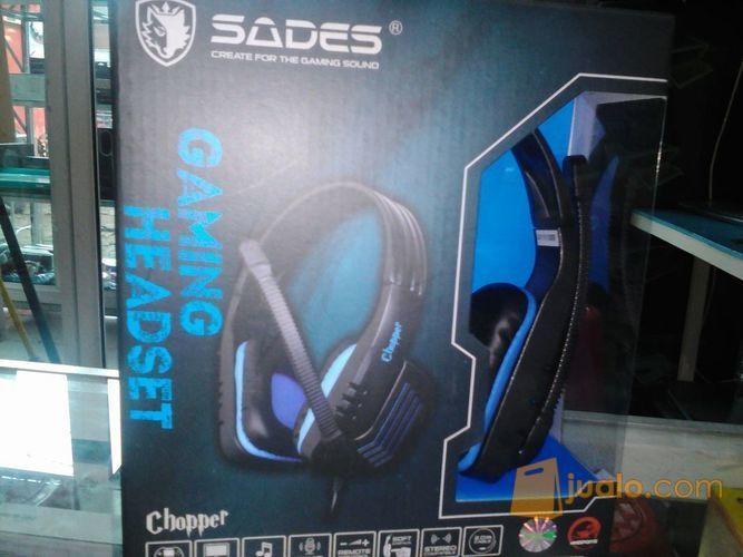Sades SA-711 Chopper Headphone / Headset Gaming / Game (8822221) di Kota Depok