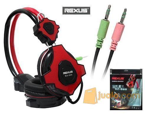 Headset Gaming Rexus RX-999 (8822499) di Kota Depok