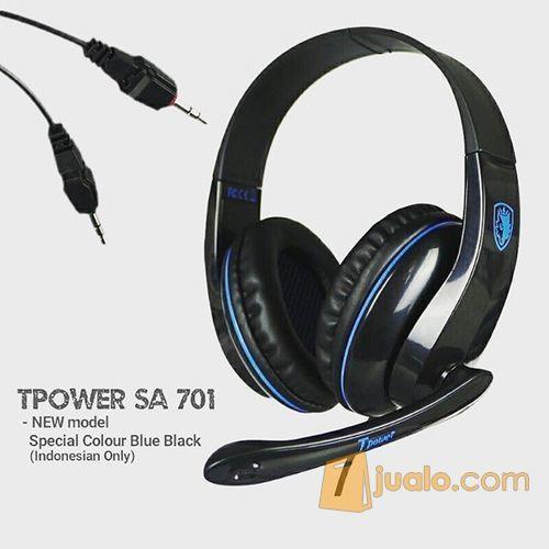 Sades SA701 T-Power Headphone / Headseat Gaming / Game Tpower (8822663) di Kota Depok