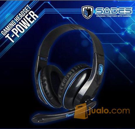 Sades SA701 T-Power Headphone / Headseat Gaming / Game Tpower (8822671) di Kota Depok