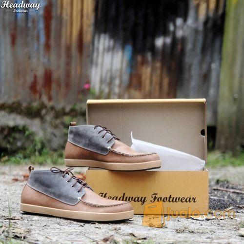 Sepatu Casual sepatu kerja sepatu jalan  sepatu boot pria ~ HW 26 (8846619) di Kota Bandung