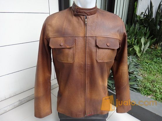 Jaket kulit domba cok mode gaya pria 8868339