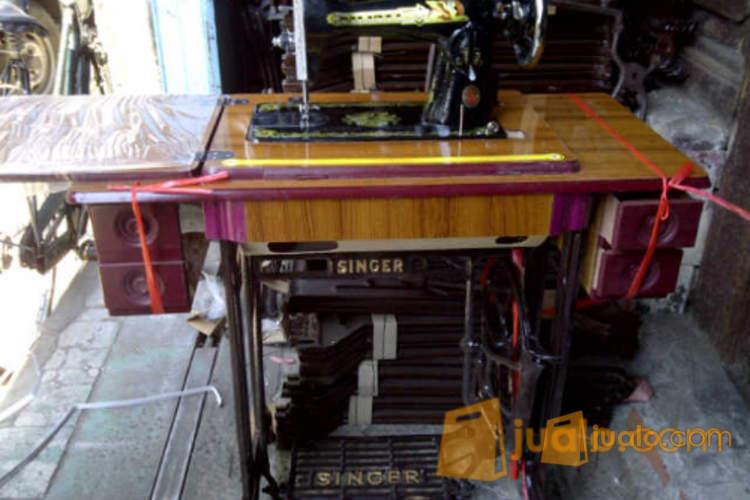 Mesin Jahit Singer Ja2 2 Model Lama Lengkap Dengan Meja Kaki Dan Dinamo Surabaya Jualo