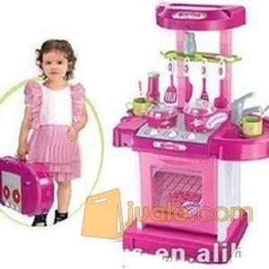Mainan Anak Kitchen Set Koper Mainan Masak Masakan Jakarta Pusat Jualo