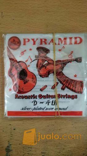 Senar Gitar Pyramid Merah 4,5,6 (8973045) di Kota Depok