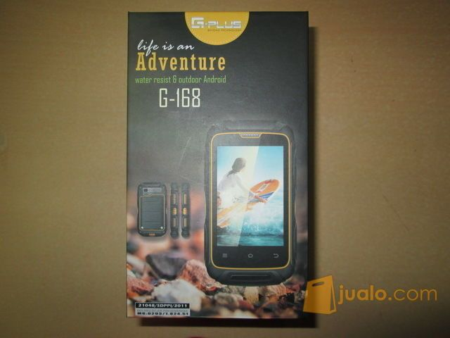 Hape Outdoor Android Gplus G168 Dual SIM Water Dust Shock Proof (9054739) di Kota Jakarta Pusat