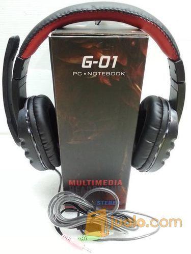 Headset M-tech Gaming Led G-01 (9198859) di Kab. Banyumas