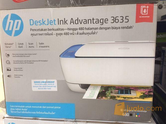 Hp Deskjet Ink Advantage 3635 Print Scan Copy Nirkabel Yogyakarta Jualo