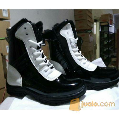 Sepatu pdl tni polisi mode gaya pria 9399285