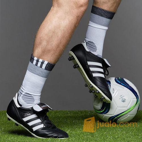 Sepatu Bola Adidas Copa Mundial Fg Black White Original Kab
