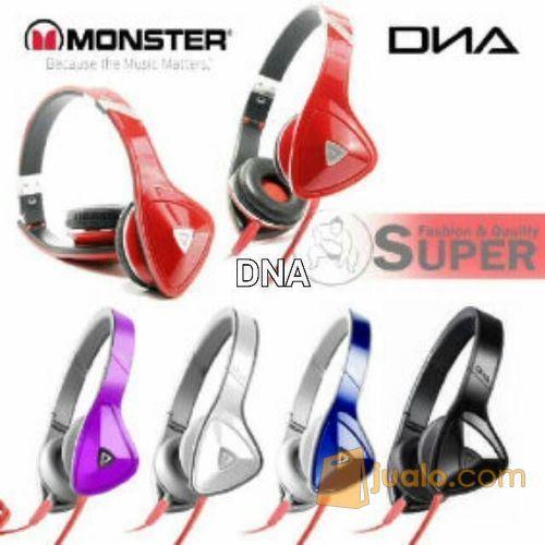"""HEADPHONE BASS KEREN MURAH MONSTER DNA """"ON EAR DESIGN """" (9468839) di Kota Jakarta Barat"""
