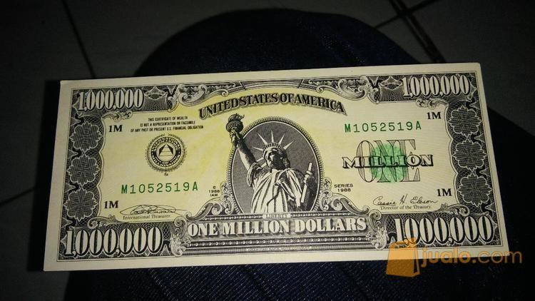 Uang Kuno 1 Juta Dollar Jakarta Timur Jualo