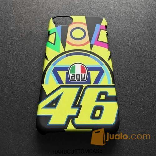 Valentino Rossi Agv 46 Iphone 7 7s Premium Custom Hard Case Bekasi Jualo