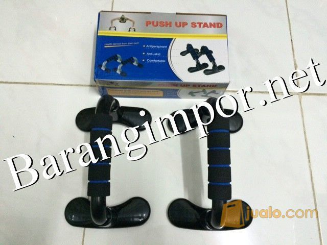 Push Up Bar/ Press Up Handles Dark Blu / y / itnes / ar / erobi / oga (9939099) di Kota Jakarta Barat