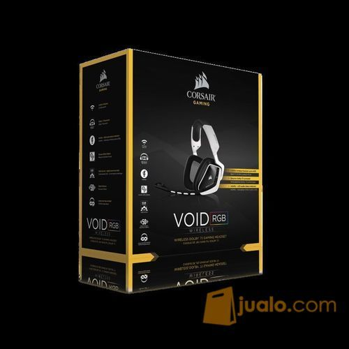 Corsair Void Wireless Dolby 7.1 White Gaming Headset (9948297) di Kota Jakarta Barat