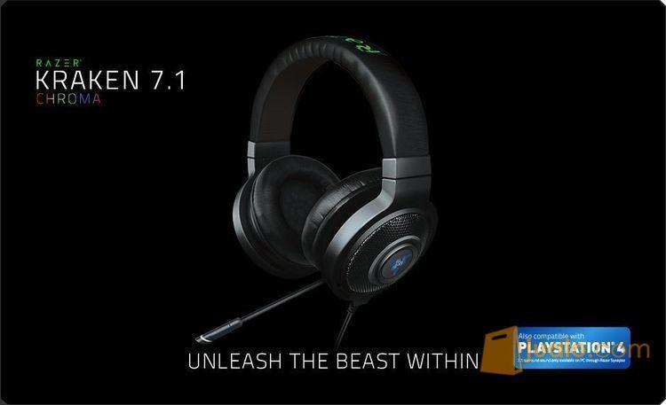 Razer Kraken 7.1 Chroma Compatible With PS4 (9952731) di Kota Jakarta Barat