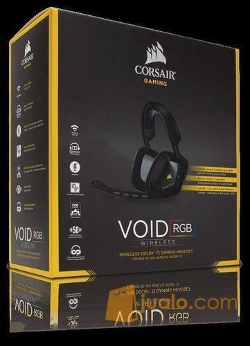 Corsair Void Wireless Dolby 7.1 Black Gaming Headset (9954167) di Kota Jakarta Barat