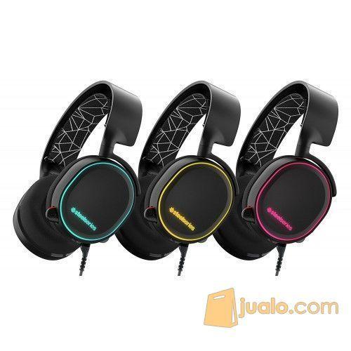 Steelseries Arctis 5 Black RGB -7.1 Surround RGB Gaming Headset (9954673) di Kota Jakarta Barat