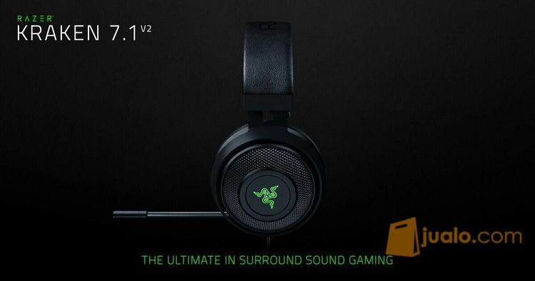 Razer Kraken 7.1 V2 Chroma - Surround Sound Gaming Headset (9958815) di Kota Jakarta Barat