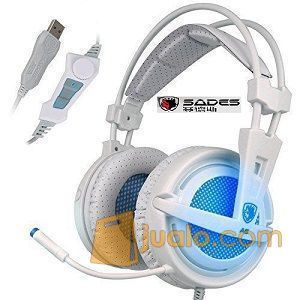 Gaming Head Set Sades SA-704 SA704 LOCUST Headset Hs Pro gamer (9959829) di Kota Jakarta Barat