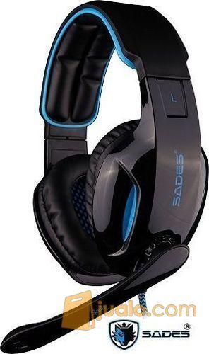 Gaming Head Set Sades SA-902 SNUK Headset HS Terbaik u/ Pro Gamer (9960183) di Kota Jakarta Barat