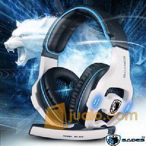Gaming Head Set Sades SA-903 HS Headset Terbaik u/ Professional Gamer (9960695) di Kota Jakarta Barat