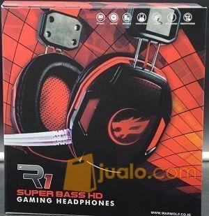 Gaming Head Set WarWolf R-1 / R1 Hs HeadSet Phone Murah Berkualitas (9960765) di Kota Jakarta Barat