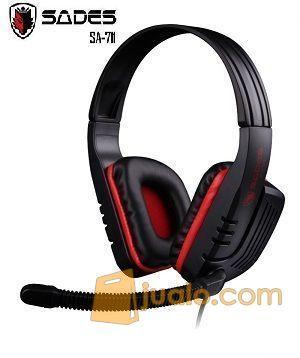 Gaming Head Set Sades SA-711 CHOPPER Headset HS Termurah U/ WarGame (9961021) di Kota Jakarta Barat