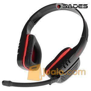 Gaming Head Set Sades SA-711 CHOPPER Headset HS Termurah U/ WarGame (9961025) di Kota Jakarta Barat