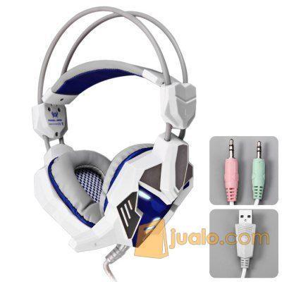 Gaming Headset Kotion Each G-3100 HS Head Set phone Terbaik Pro Gamer (9961555) di Kota Jakarta Barat