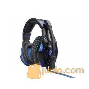 Gaming Head Set Sades SA-907S KNIGHT Plus HS Headset Terbaik Pro Game (9961817) di Kota Jakarta Barat